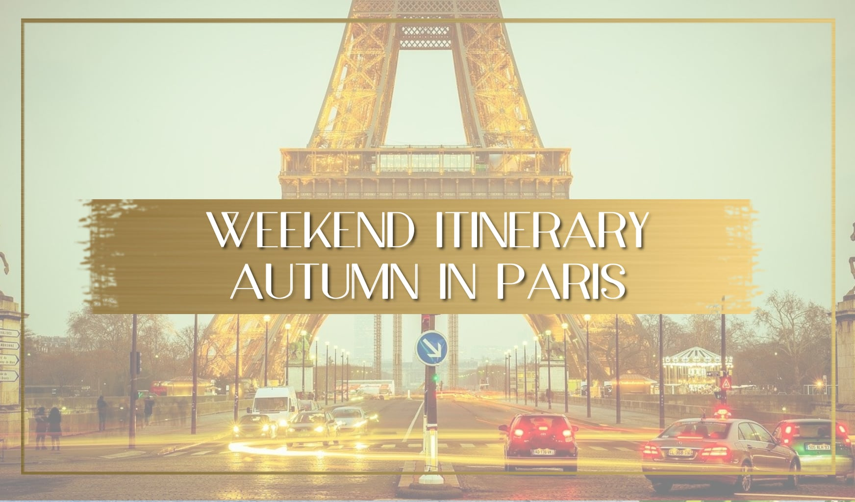 Itinerary weekend in Paris main