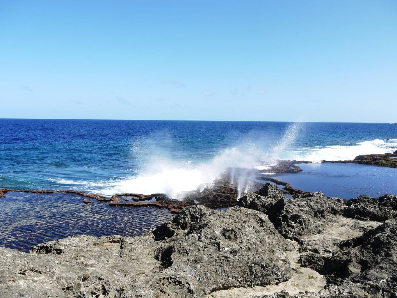 Blowholes in Tonga' Nuku'alofa