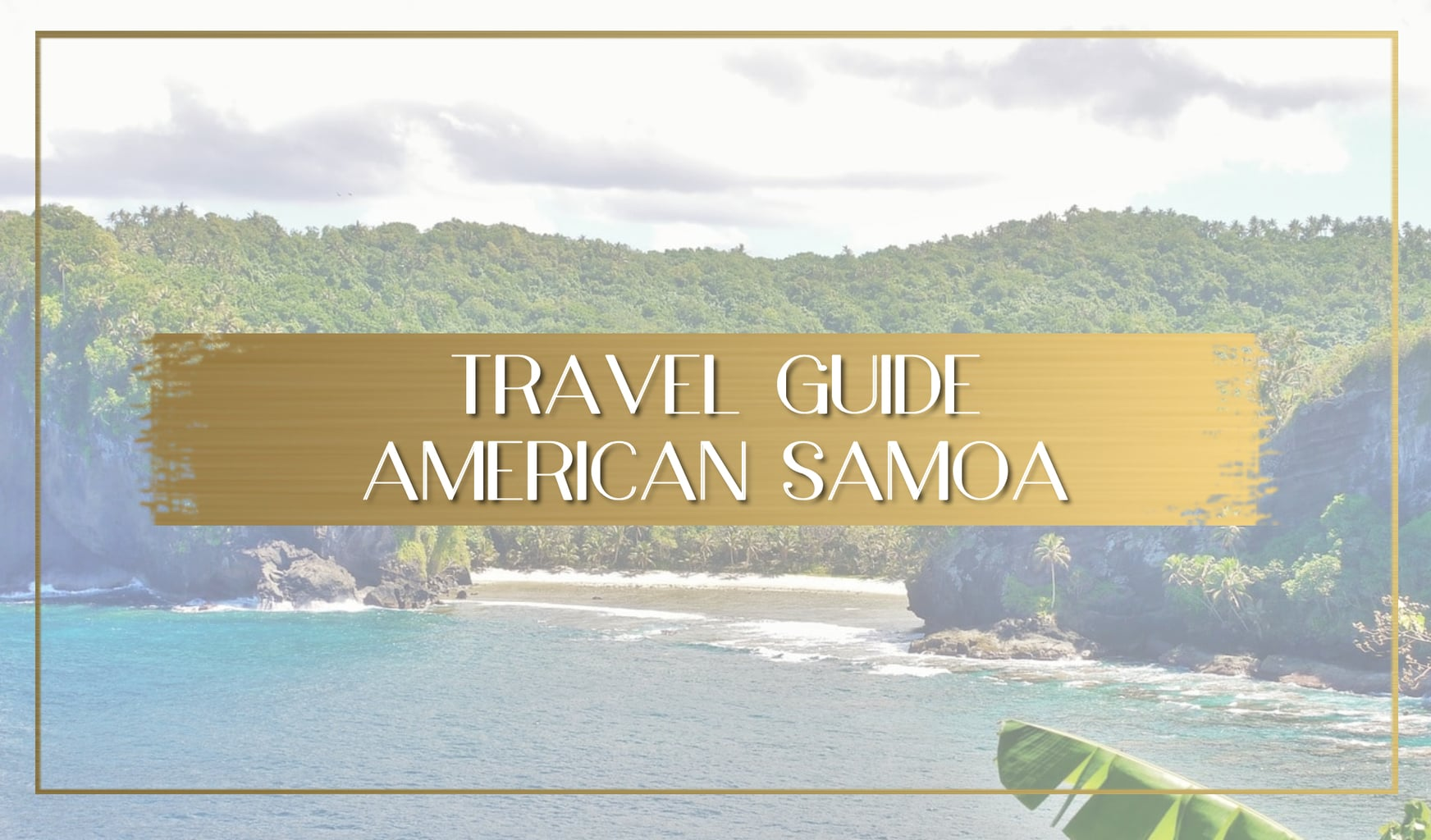 Travel guide to American Samoa main