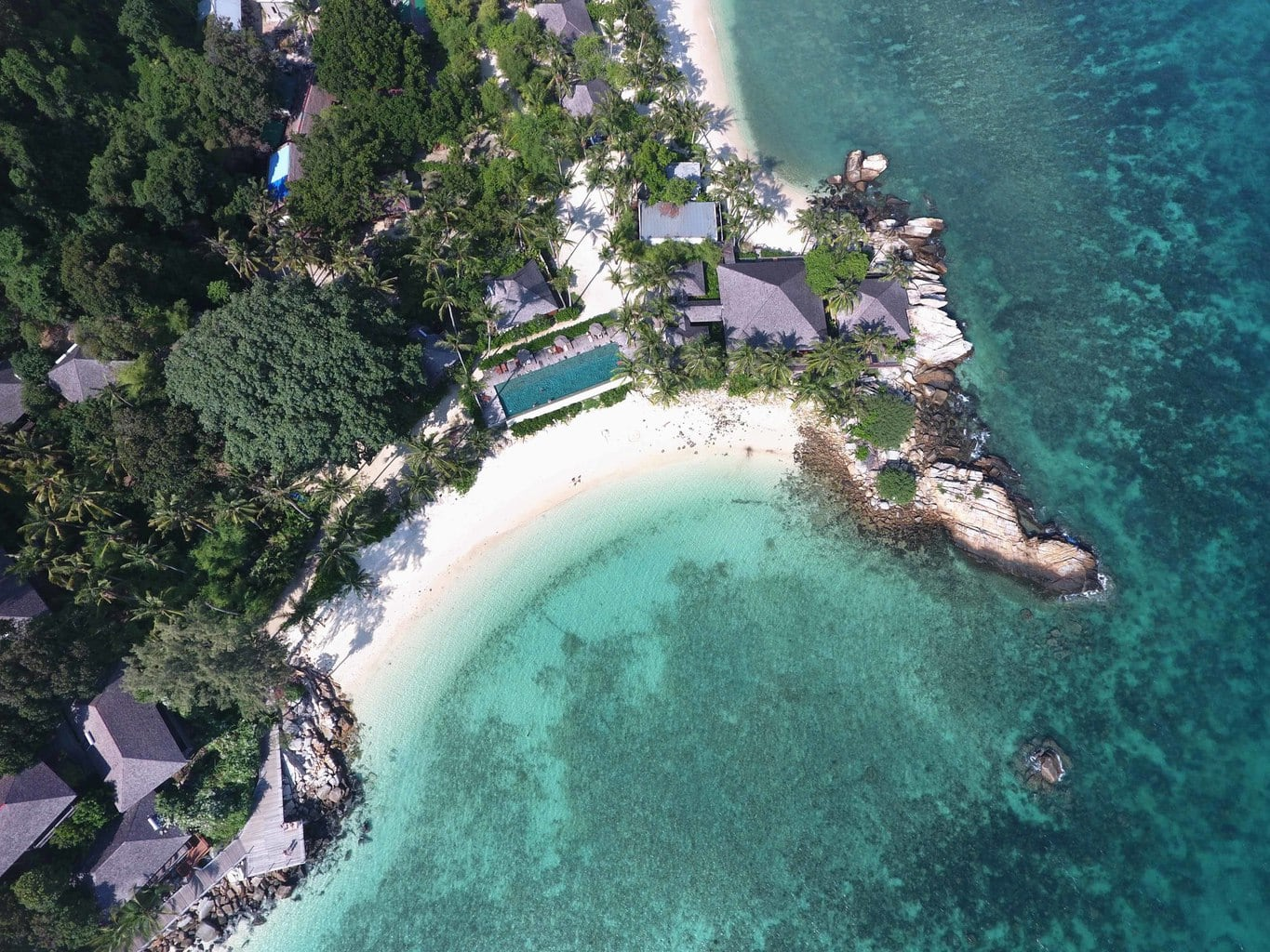 Batu Batu from the air