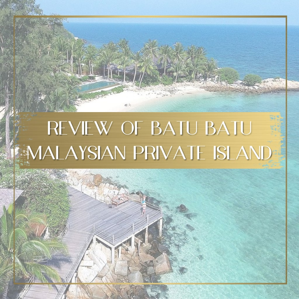 Batu Batu Private island in Malaysia feature