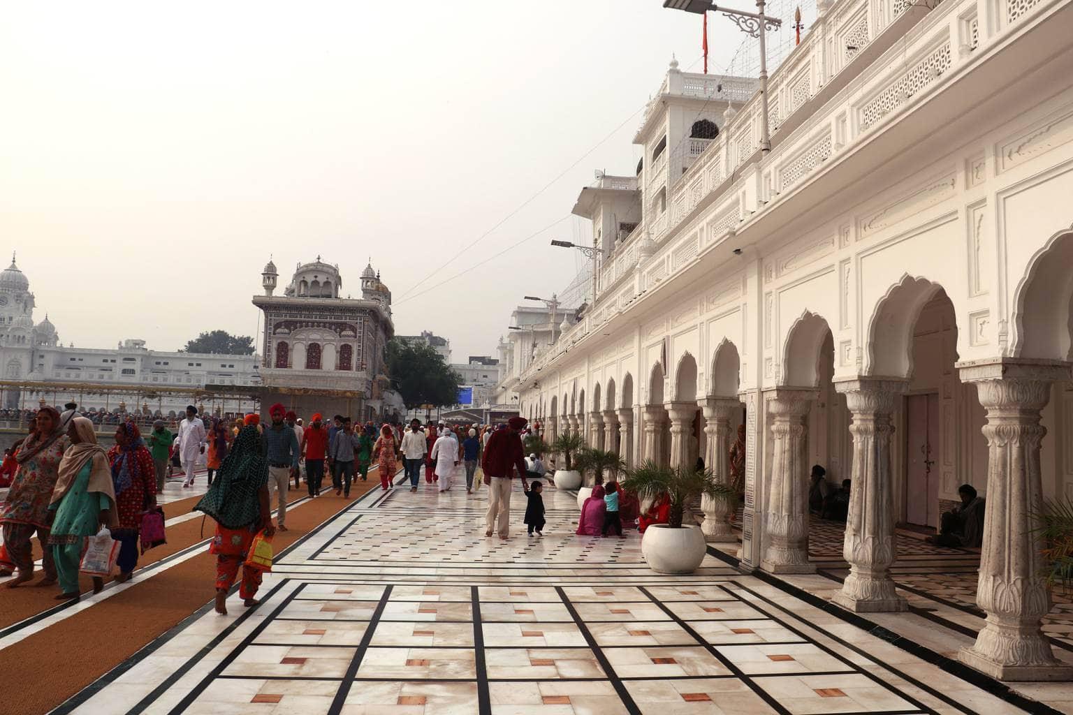 The Golden Temple Amritsar