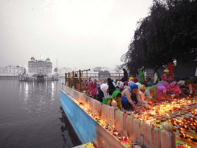 Dukh Bhanjani Beri in The Golden Temple Amritsar