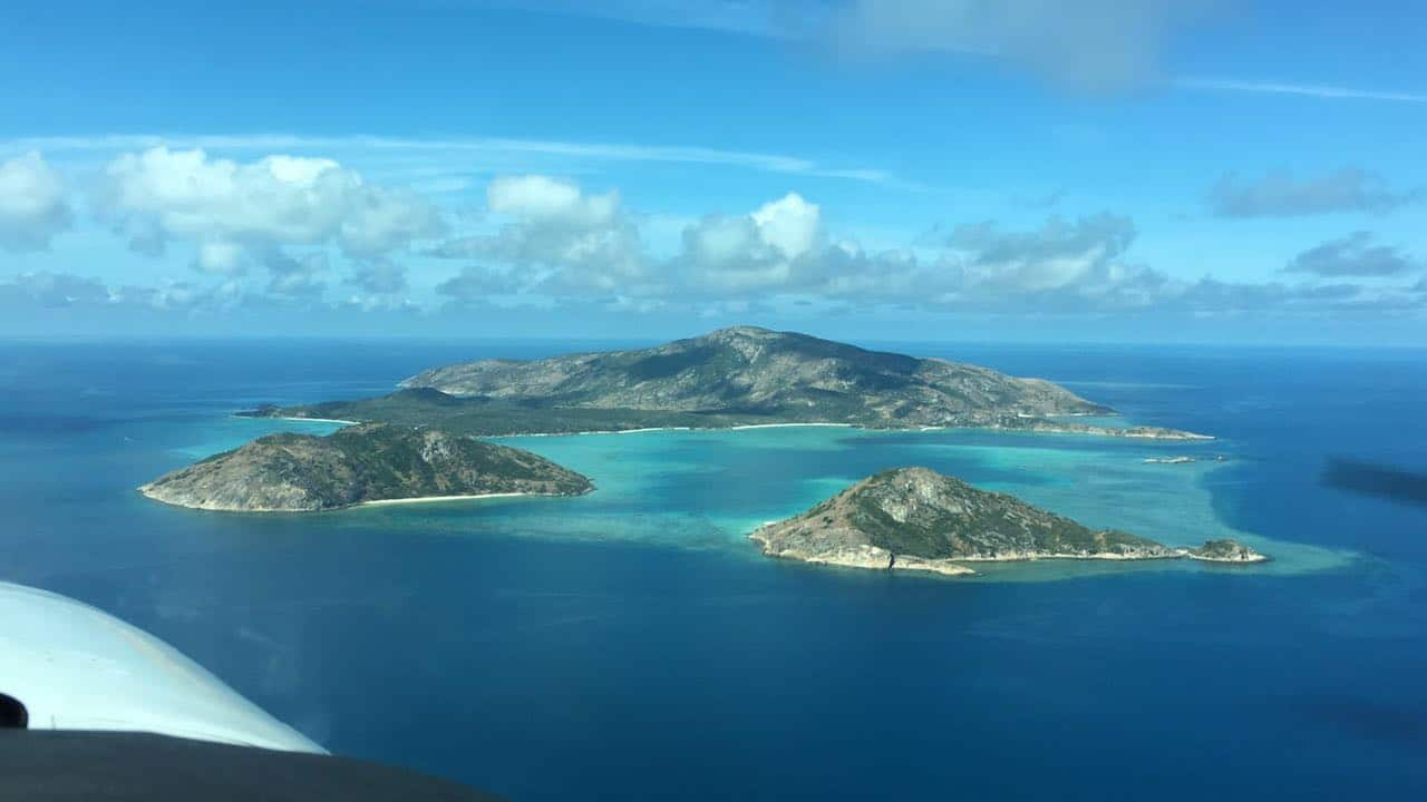 Lizard Island from above