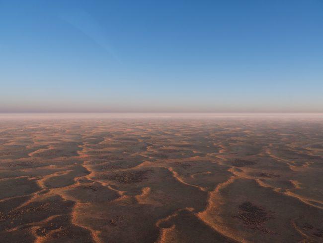 The plains around Uluru Ayers Rock and Kata Tjuta