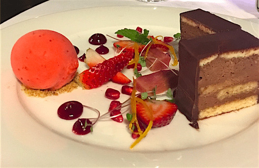 Dessert at Lizard Island Resort
