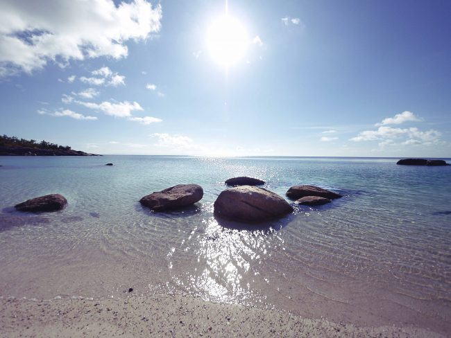 Beach on Lizard Island