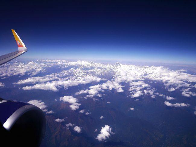 Himalayas from Delhi to Paro
