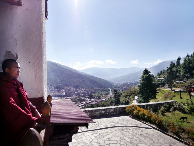 Facts About Bhutan in Dechenprodrang Monastery