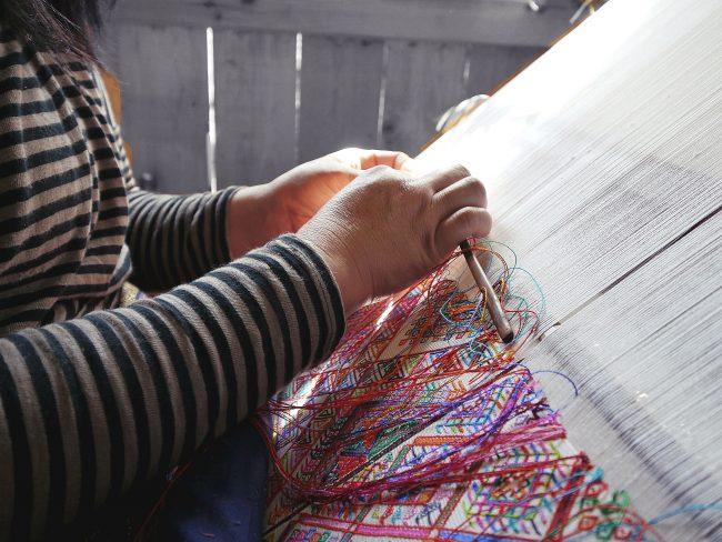 Weaving in Bhutan