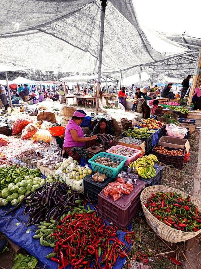 Punakha market