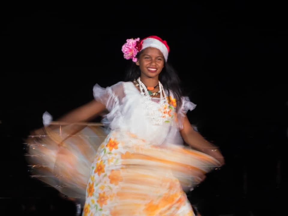 Chamorro traditional dance at Sheraton Laguna Guam