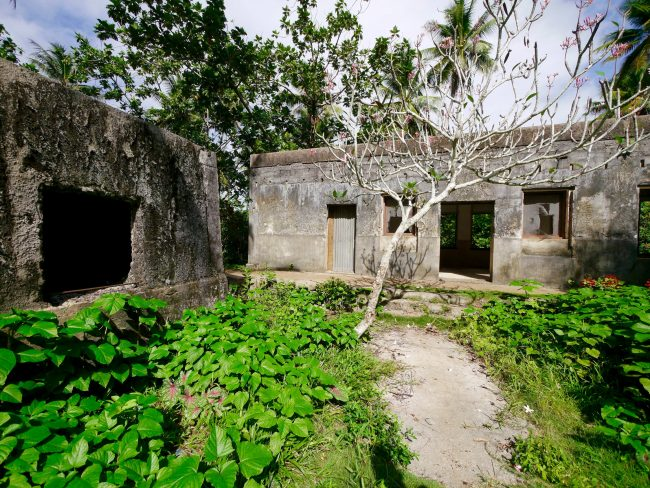 Japanese military hospital Chuuk