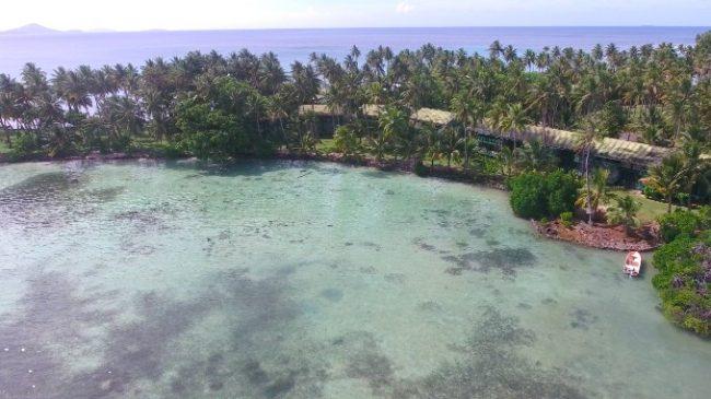 Blue Lagoon Resort Chuuk aerial