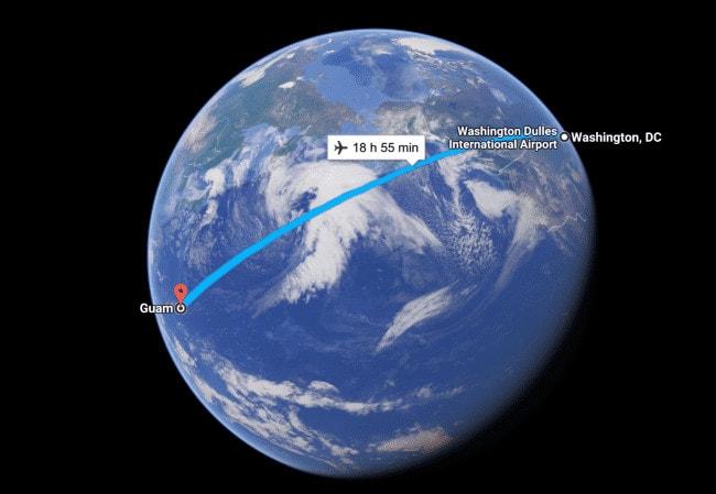 Guam Google Earth