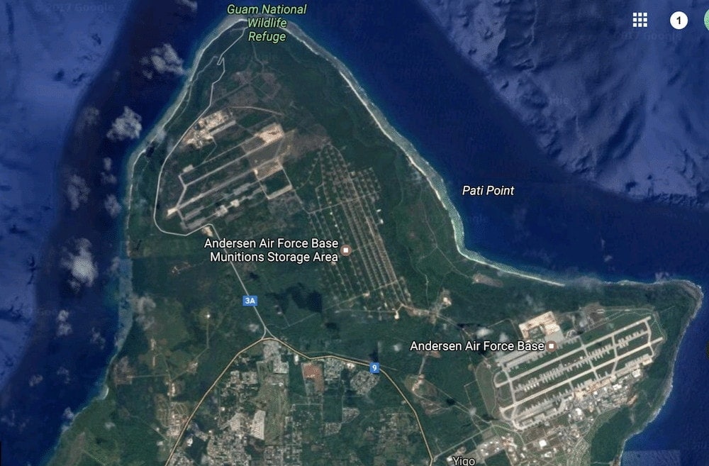Guam's Army bases