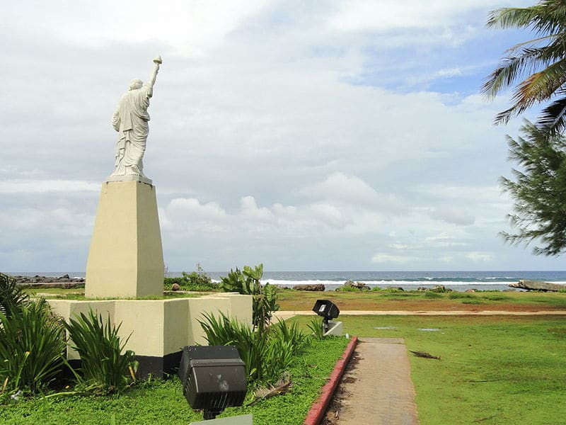 Statue of Liberty in Guam