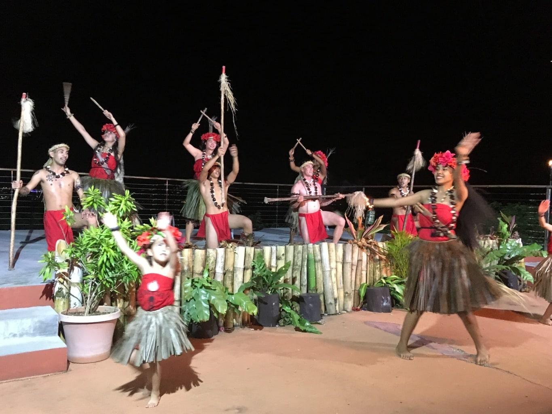 Traditional Chamorro dancing