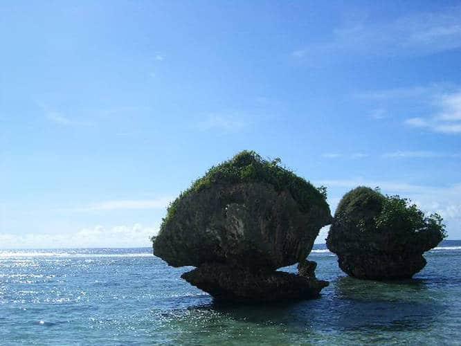 Tanguisson Beach in Guam