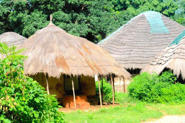 Guinea-Bissau huts