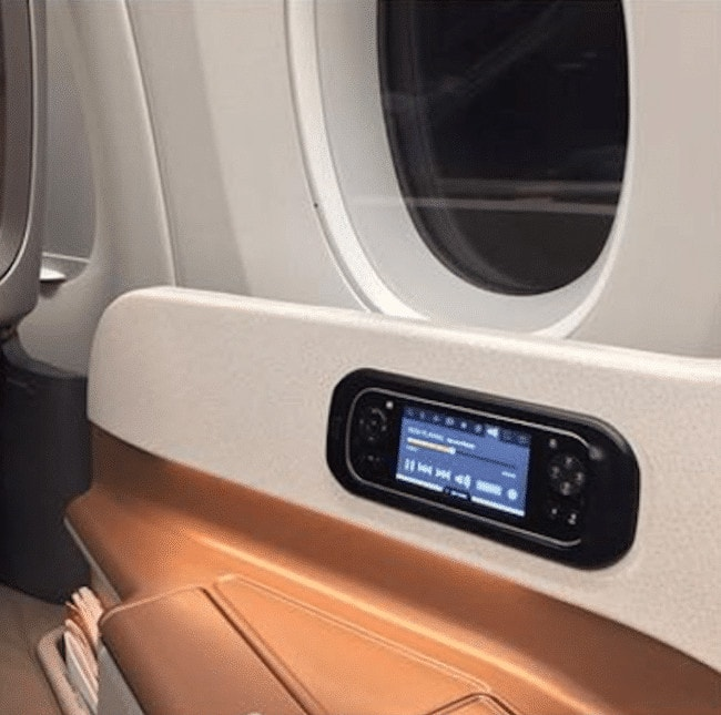 Singapore Airlines A350, Amenities