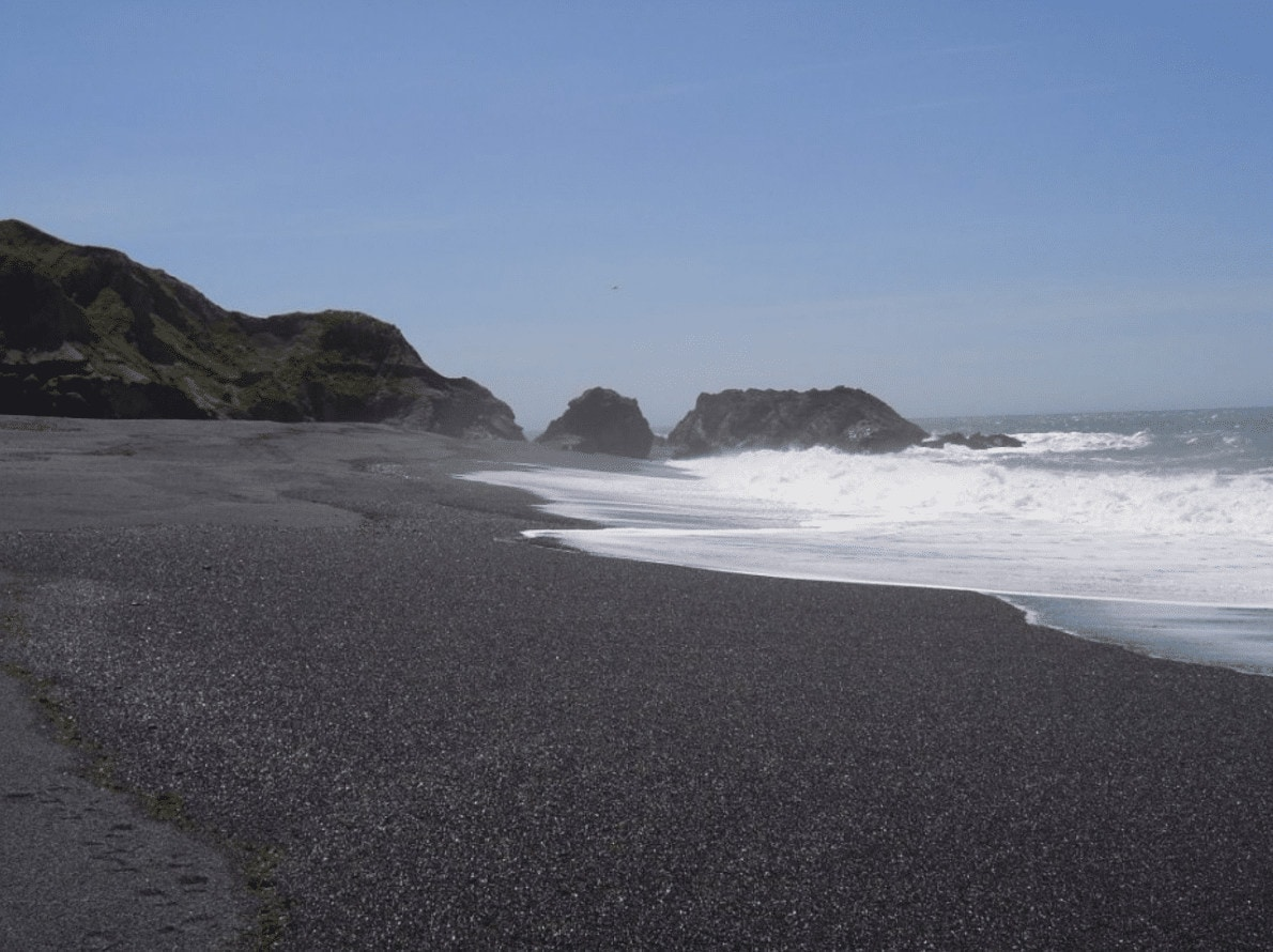 Black Sand Beach Shelter Cover