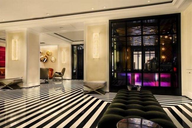 The lobby of The Mark Hotel, NYC