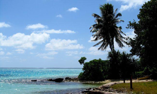 Kiribati beach