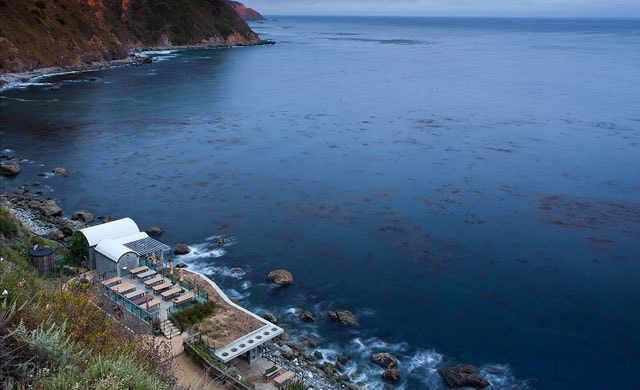 The Esalen Institute Hot Springs