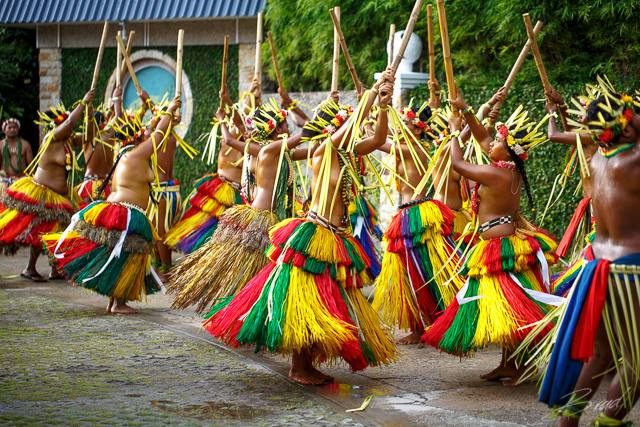 Dancer in Micronesia