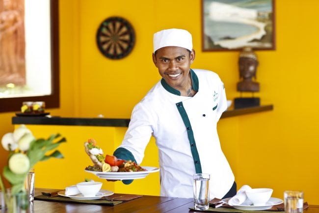 Exclusive chef