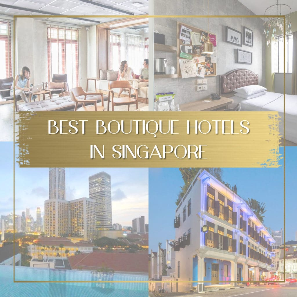 Best boutique hotels in Singapore feature