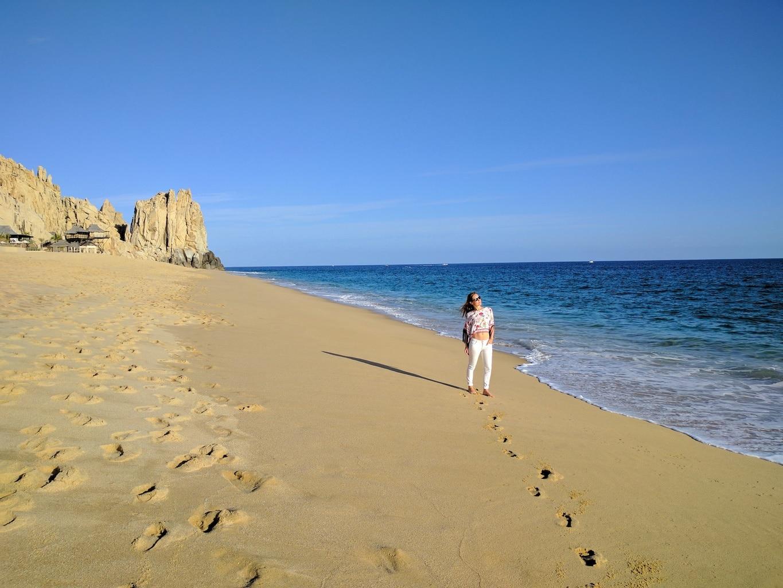 Solmar beach and Land's End