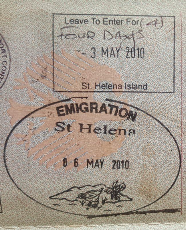 St Helena Stamp