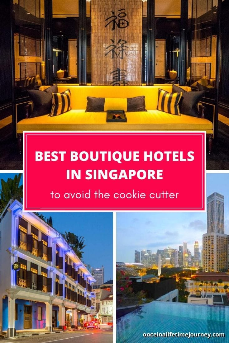 The Best boutique hotels in Singapore