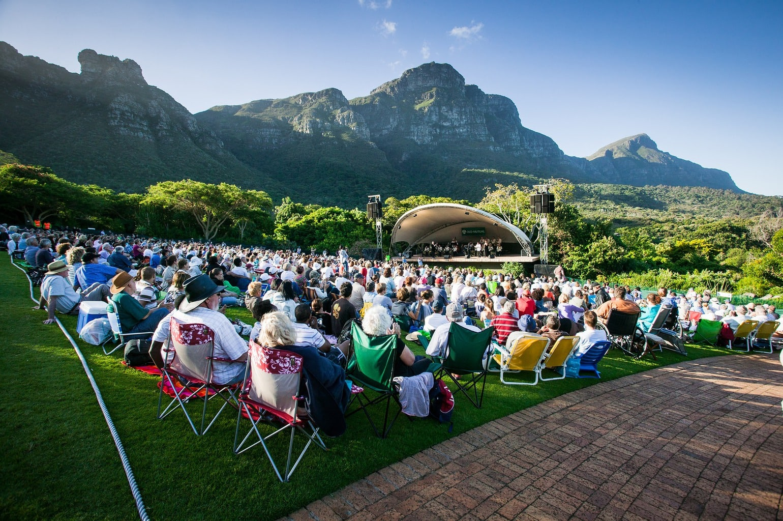 Summer concerts in Kirstenbosch