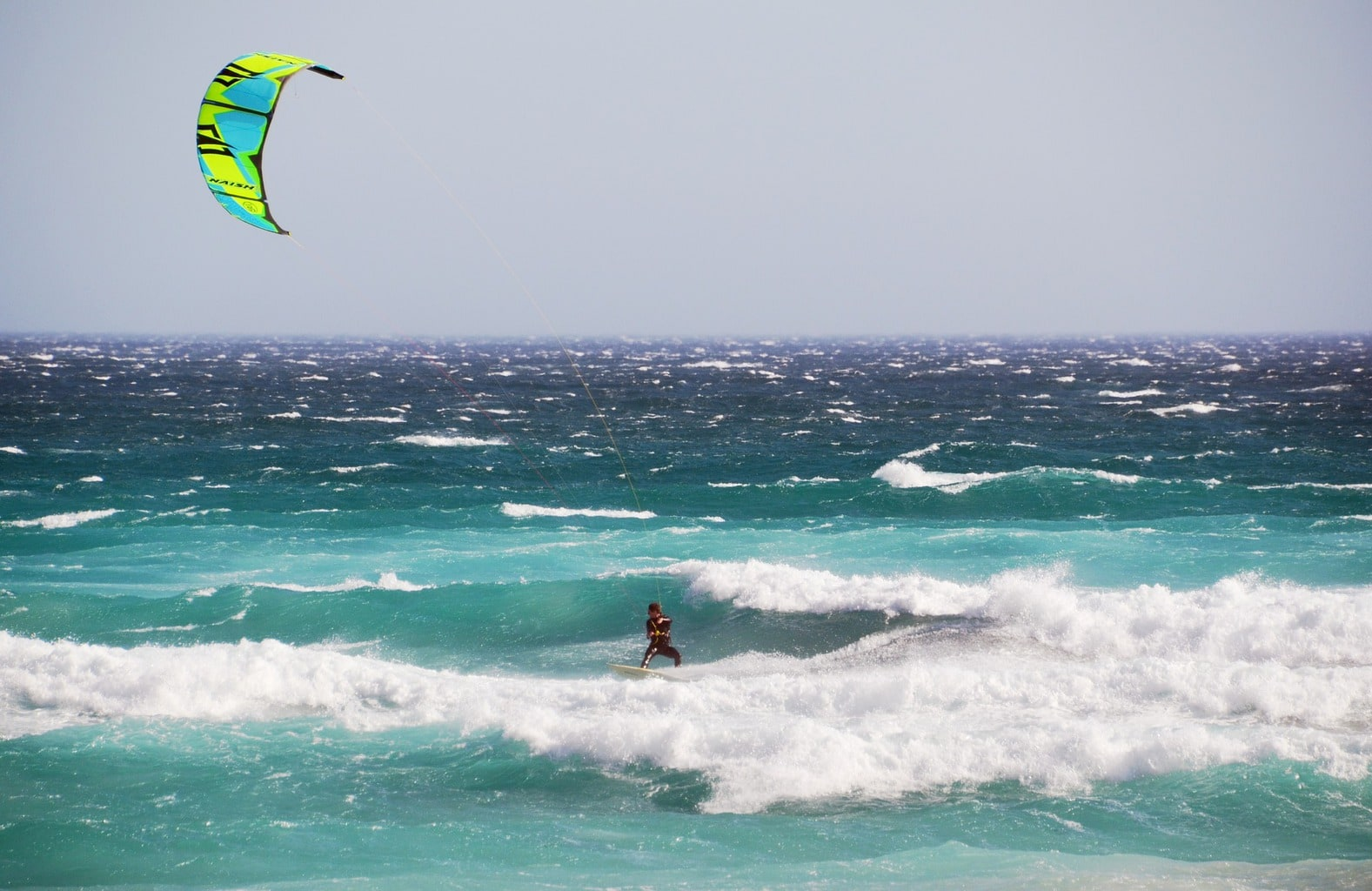 When the winds are up, it's your chance for kiting