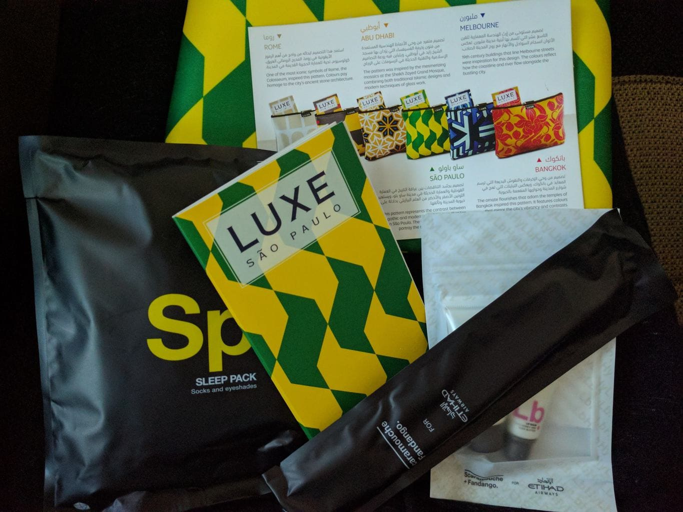 Luxe Travel Business Class Kit
