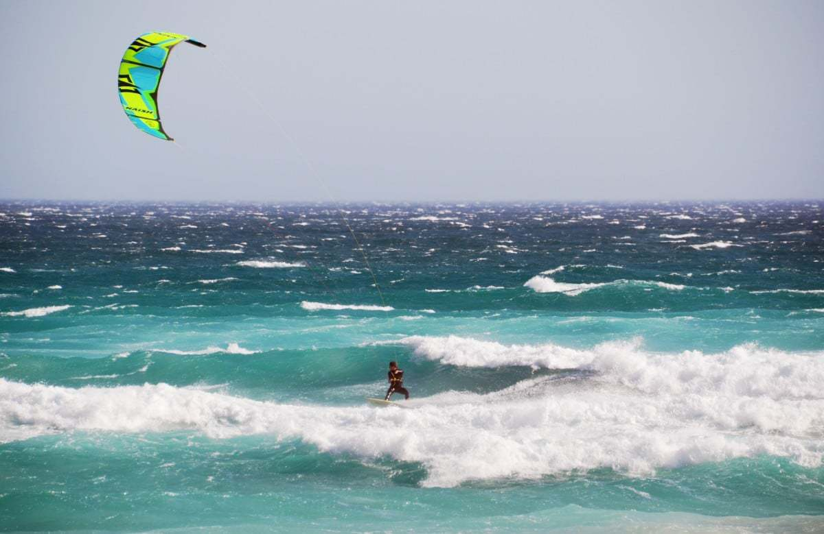 Kite Surfing in Big Bay