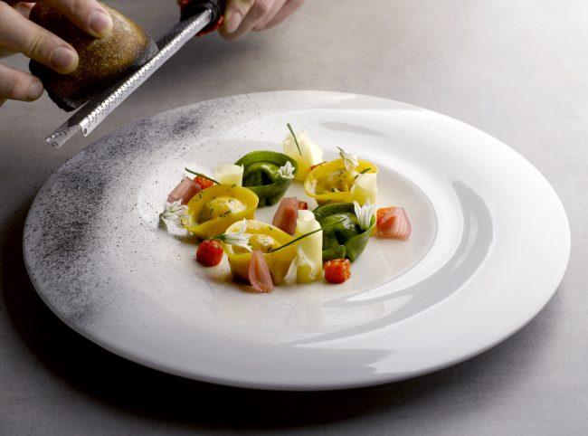Saffron Tortellini at JAAN