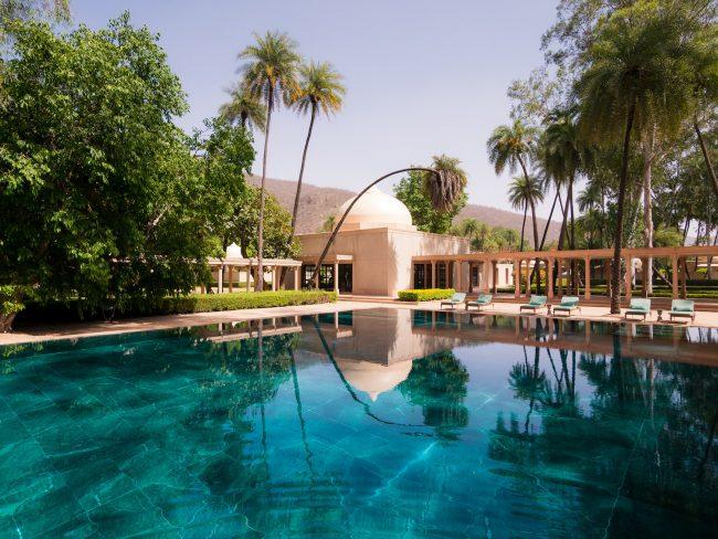 The gigantic pool
