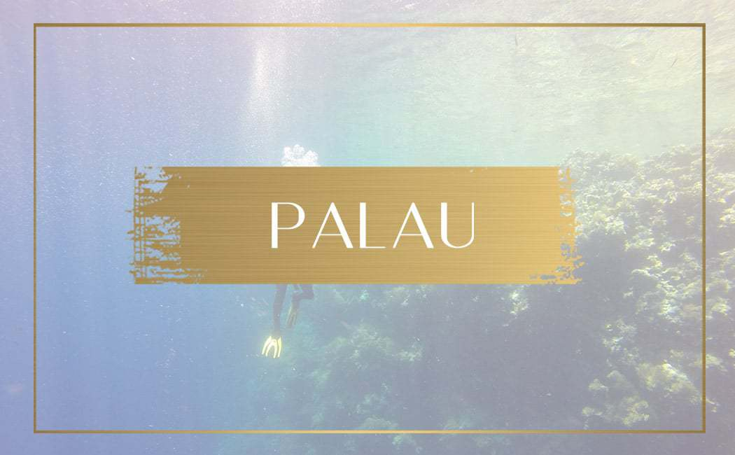 Destination Palau