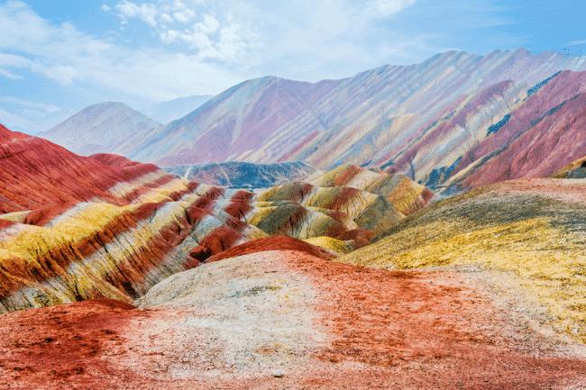 The marvelous Zhangue Danxia Landform