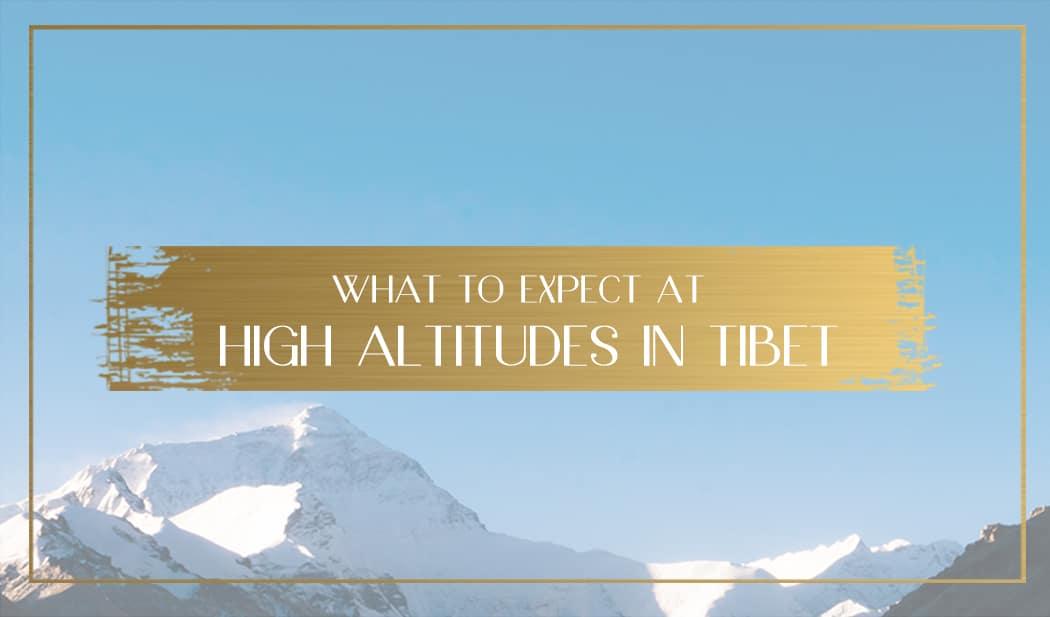 Altitude sickness in Tibet Main