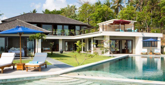 Villa Aamisha garden area
