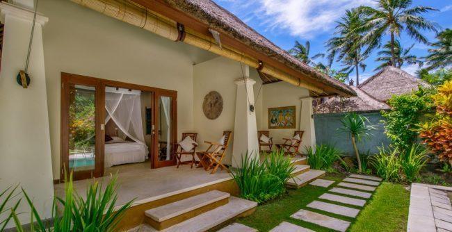 Villa Gils patio