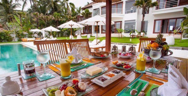 Villa Lucia breakfast