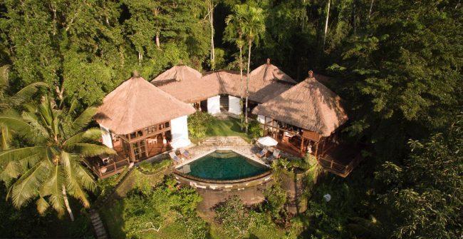 Villa Melati aerial