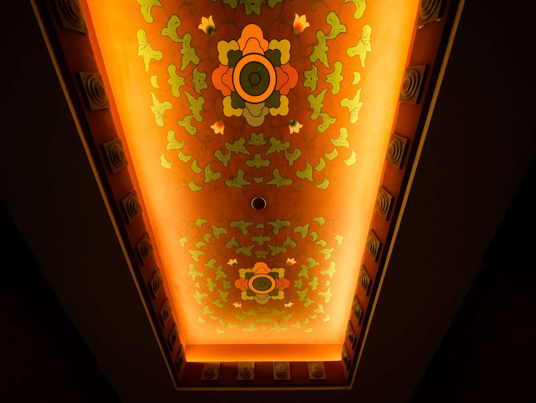 Ceiling detail at Shangri-La Lhasa