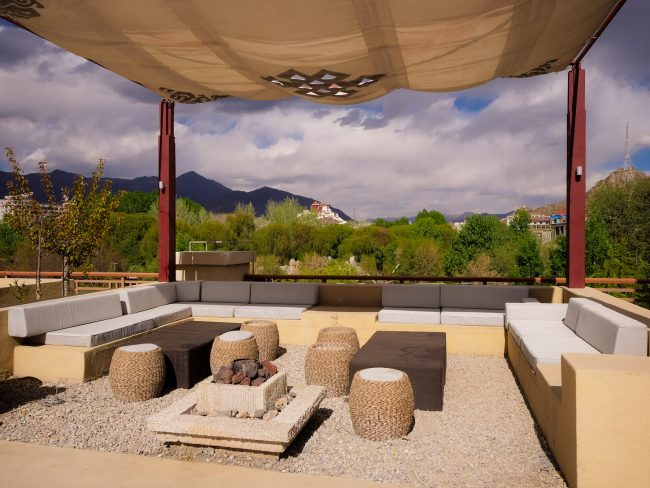 View off the patio